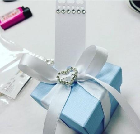 Små gaveesker til gjestene