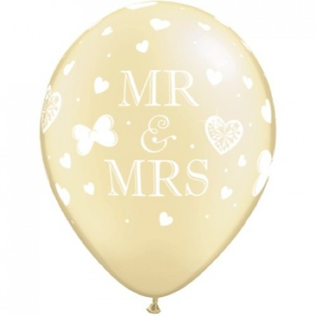 Perle Krem Mr. & Mrs. Ballong